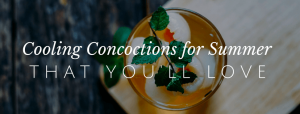4 Delicious Drinks for That Hot Summer Day // redeemingnutrition.com