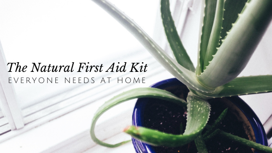 The Natural First Aid Kit Everyone Needs in Their Home // andreadahlman.com