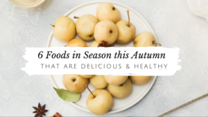 6 Foods in Season this Fall That Are Delicious & Healthy // andreadahlman.com
