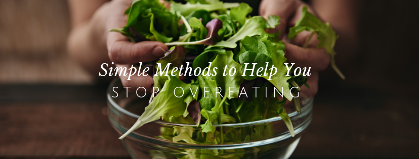 These 5 Easy Tips Can Help You Quit Overeating // redeemingnutrition.com