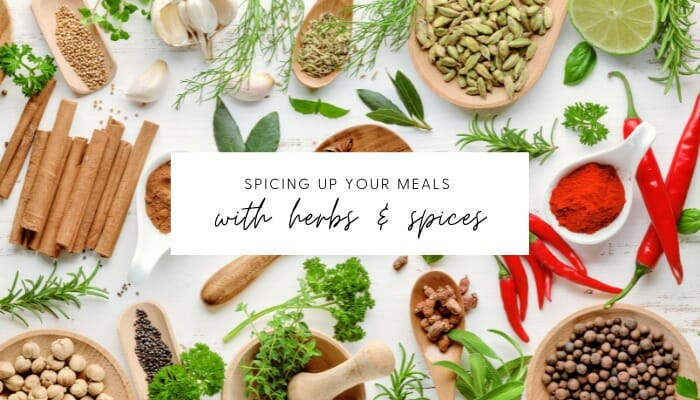 8 Herbs and Spices to Use in Your Meals // andreadahlman.com