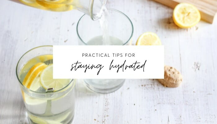 7 Tips on Staying Hydrated on Hot Summer Days // andreadahlman.com