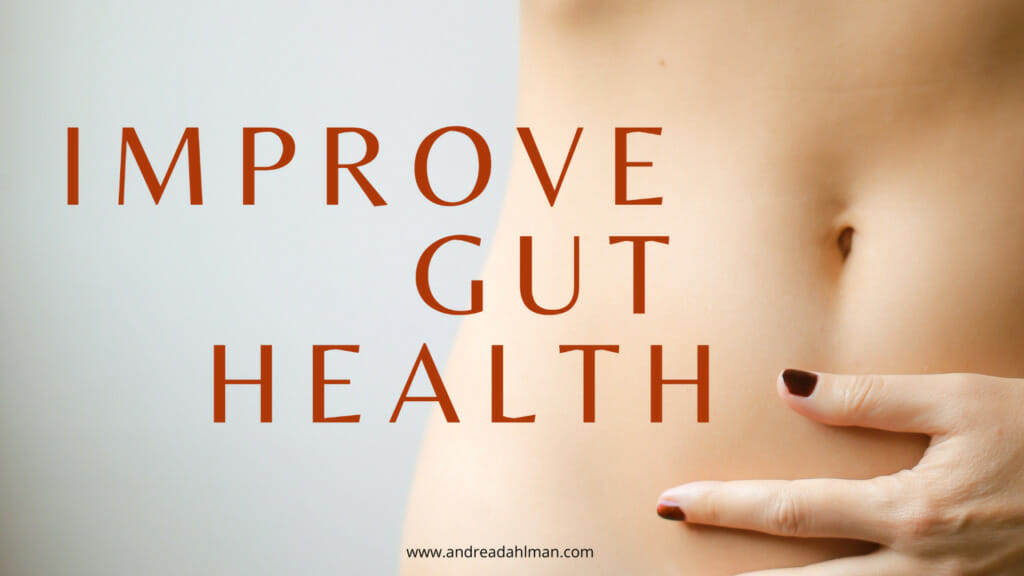 3 Ways to Improve Gut Health // andreadahlman.com