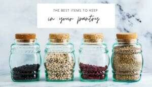 Keep These 6 Items Stocked in Your Pantry // andreadahlman.com