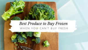 Top 7 Fruits & Veggies to Buy Frozen // andreadahlman.com