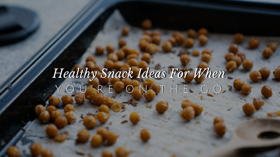8 Healthy Snack Ideas When You're On-the-Go // andreadahlman.com