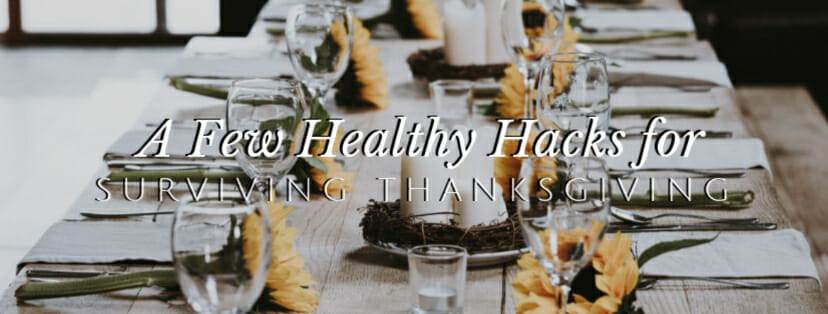 6 Healthy Ways to Thrive This Thanksgiving // redeemingnutrition.com